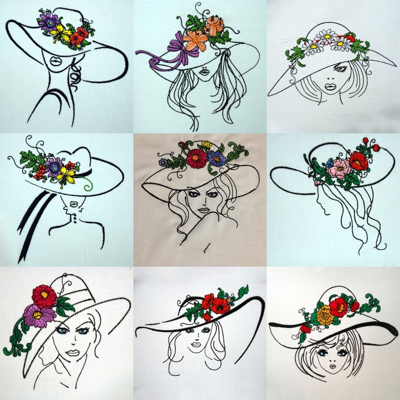 Digital Embroidery Design Sets