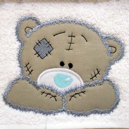 Tatty Teddy Machine Embroidery Design