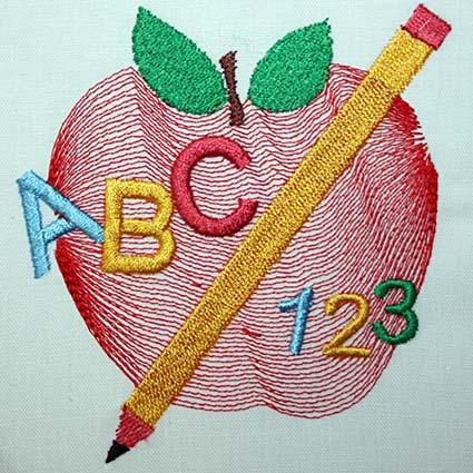 Kids Machine Embroidery Design