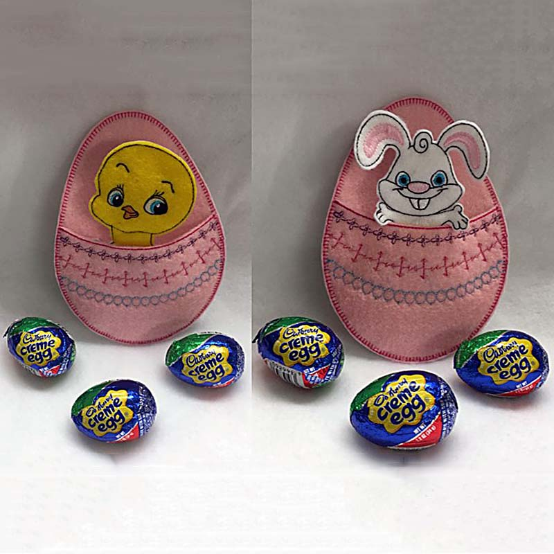 Easter Egg Embroidery Design