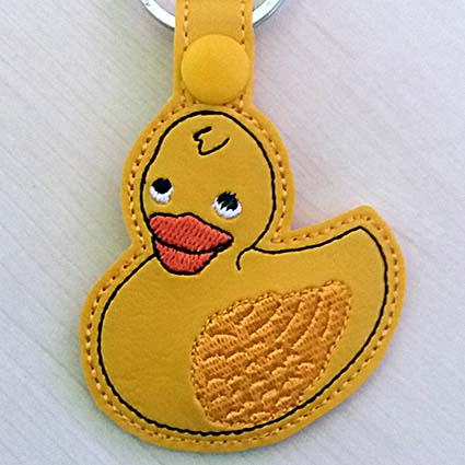 rubber duck machine embroidery design